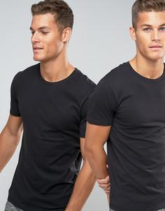 2 футболки классического кроя с круглым вырезом Levis - Черный Levis®