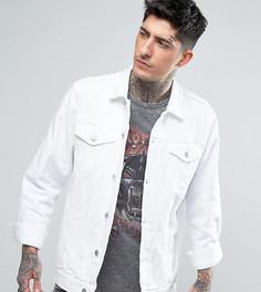 Белая джинсовая куртка в стиле oversize Reclaimed Vintage Inspired - Белый