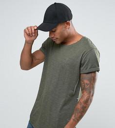 Зеленая удлиненная футболка свободного кроя с круглым вырезом G-Star Be RAW Vontoni - Зеленый