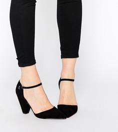 Туфли на каблуке с острым носом ASOS SPEAKER - Черный