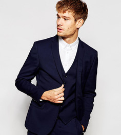 Пиджак зауженного кроя на свадьбу Number Eight Savile Row - Синий