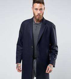 Oversize-пальто Heart & Dagger - Темно-синий