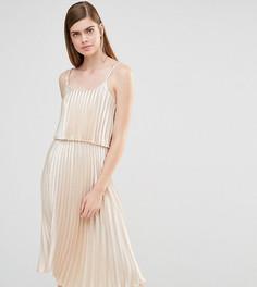 Платье миди 2 в 1 True Violet - Золотой