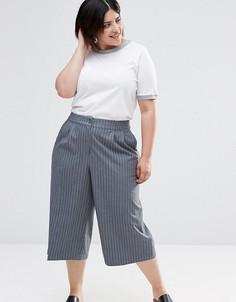 Юбка-брюки в строгом стиле Junarose Plus - Серый