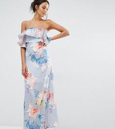 Платье макси с цветочным принтом Every Cloud - Мульти