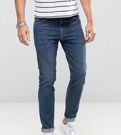 Зауженные темно-синие джинсы Noak - Синий
