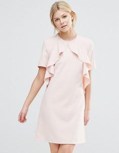 Платье с оборками Alter Petite - Розовый