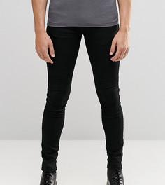 Черные джинсы с напылением Brooklyn Supply Co Hunter - Черный