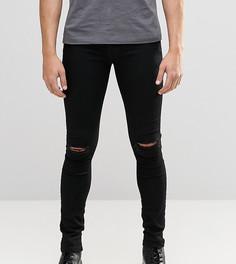 Черные джинсы с разрезами на коленях Brooklyn Supply Co Hunter - Черный