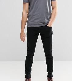 Черные суперзауженные джинсы Brooklyn Supply Co Dyker - Черный