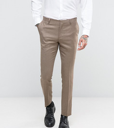 Зауженные брюки Number Eight Savile Row - Бежевый