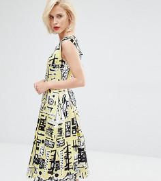 Платье для выпускного Horrockses Monica - Желтый