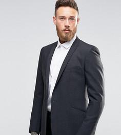 Фланелевый пиджак слим Hart Hollywood by Nick Hart - Серый