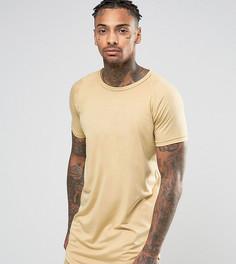 Удлиненная футболка Other UK - Светло-серый