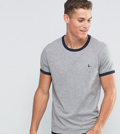 Серая футболка классического кроя Jack Wills Ringer - Серый