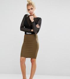 Облегающая юбка Puma эксклюзивно для ASOS Co Ord - Зеленый