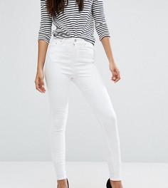 Белые джинсы скинни ASOS TALL RIDLEY - Белый