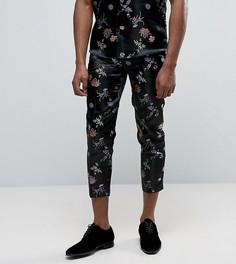 Парчовые брюки Reclaimed Vintage - Черный