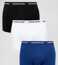 Набор из 3 пар боксеров-брифов Bjorn Borg - Темно-синий