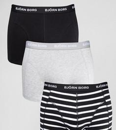 Набор из 3 боксеров-брифов Bjorn Borg - Черный