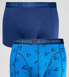 Набор из 2 пар боксеров-брифов с треугольниками Bjorn Borg - Темно-синий