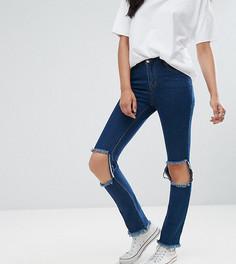Рваные джинсы скинни Daisy Street Tall - Синий
