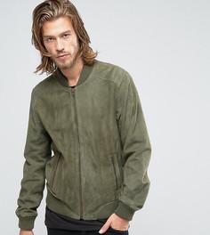 Замшевая зеленая куртка-пилот Black Phoenix - Зеленый