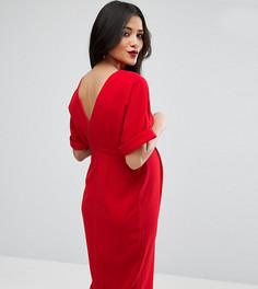 Строгое платье ASOS Maternity - Красный
