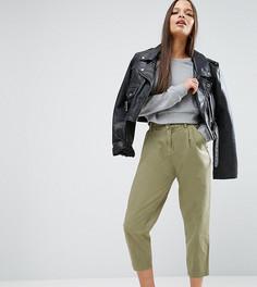 Выбеленные брюки галифе ASOS PETITE Ultimate - Зеленый