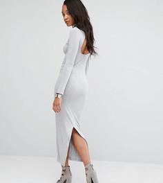 Облегающее платье макси Puma эксклюзивно для ASOS - Серый