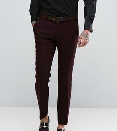 Суперузкие брюки из твида Харрис Noose & Monkey - Красный