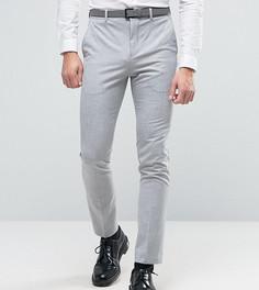 Бледно-серые супероблегающие брюки Selected Homme - Серый