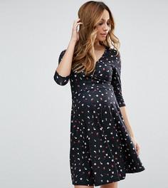 Платье с цветочным принтом для беременных и кормящих ASOS Maternity - Мульти