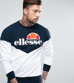 Свитшот с классическим логотипом Ellesse - Темно-синий