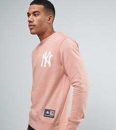 Свободный свитшот Majestic Yankees эксклюзивно для ASOS - Розовый