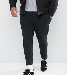 Черные укороченные брюки скинни ASOS PLUS - Черный