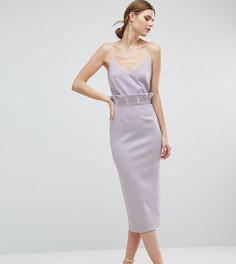 Платье-футляр миди ASOS TALL - Фиолетовый