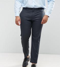 Синие фактурные брюки скинни ASOS PLUS WEDDING - Синий