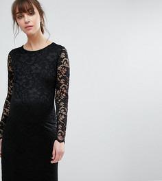 Кружевное облегающее платье Queen Bee - Черный