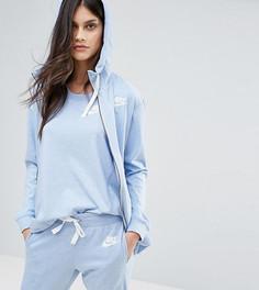 Голубой классический спортивный худи на молнии Nike эксклюзивно для ASOS - Мульти