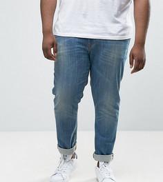 Выбеленные джинсы скинни ASOS PLUS - Синий