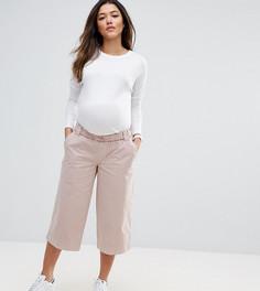 Широкие выбеленные брюки ASOS Maternity - Розовый