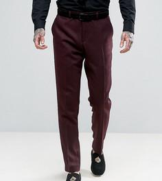Фактурные зауженные брюки Heart & Dagger - Красный