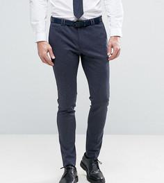 Супероблегающие трикотажные брюки Noak - Темно-синий