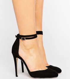Туфли на высоком каблуке для широкой стопы ASOS PLAYDATE - Черный