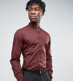 Рубашка с узким шалевым воротником Hart Hollywood - Красный