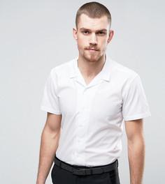 Узкая рубашка с короткими рукавами и отложным воротником Hart Hollywood - Белый