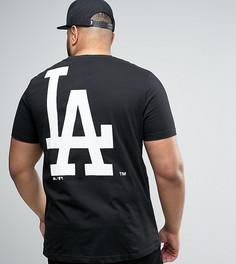 Длинная футболка Majestic PLUS L.A. Dodgers - Черный