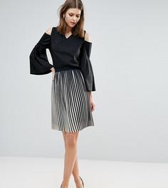 Комбинируемая плиссированная юбка Y.A.S Tall Amelia - Мульти