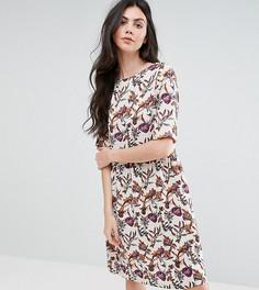 Платье с цветочным принтом Y.A.S Tall - Мульти